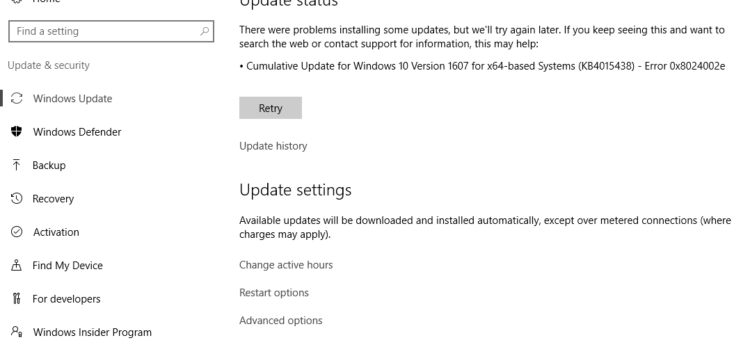 How to Fix Windows Update Issues