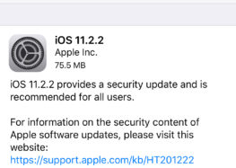 Apple releases iOS 11.2.2 & macOS High Sierra 10.13.2 security updates with Spectre fixes