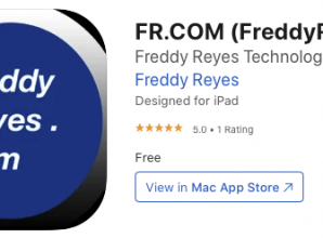 FreddyReyes.com V3.0 now available on the App Store