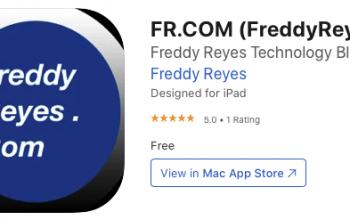FreddyReyes.com V3.0 now available on the App Store